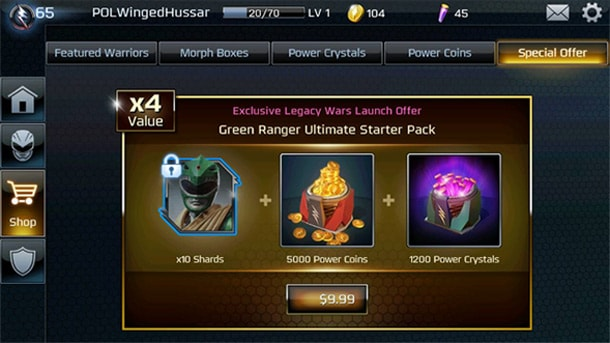 game-interface